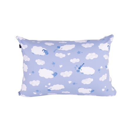 Travesseiro Mini Carneirinhos Azul