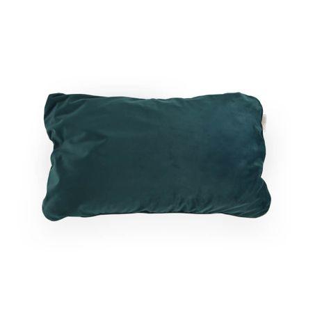 Almofada Nap Veludo Verde Com Capa