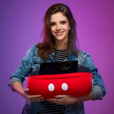Almofada-Rolo-Porta-Tablet-Mickey-Mouse