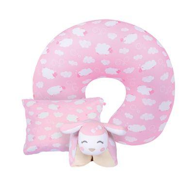 Kit-Ovelhinhas---Travesseiros-Mini---Naninha---Almofada-de-Amamentacao-