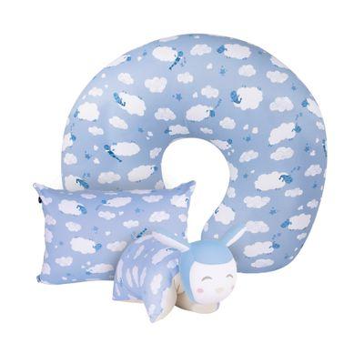 Kit-Carneirinhos---Travesseiros-Mini---Naninha---Almofada-de-Amamentacao-